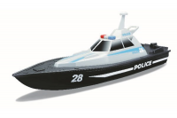 "Speed Boat  – Police R/C 13,4"" (USB Ver.) 2.4GHZ (RTR)"