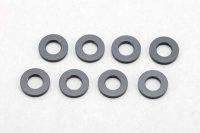 Yokomo – Aluminum Shim Black (8pcs)