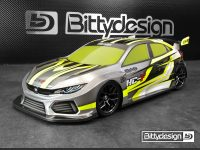 Bittydesign – HC-F 1:10 FWD body – (ETS APPROVED)