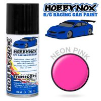 Hobbynox – Neon Pink RC Racing Car Spray (150 ml)