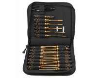 ARROWMAX – Toolset (23Pcs) With Tools Bag Black Golden