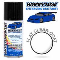 Hobbynox – Flat Clear Coat RC Car Spray (150ml)