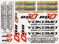 Yokomo – BD10 Logo decal