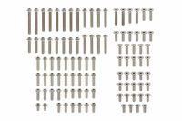 Yokomo – High precision cutting 3mm Titanium Screw Set (100pcs) for YZ-2DTM3/CAL3