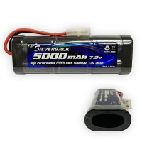 Silverback – NiMh – 5000mAh – 7.2V (Stick Pack) (NEW)