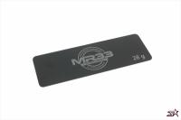 MR33 – 28g Steel Battery Weight 0.6mm Long (Black)