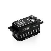 Power HD – S15 Low profile 1:10 Touring 15kg, 0.06sec (Black/Silver)