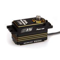 Power HD – S15 Low profile 1:10 Touring 15kg, 0.06sec (Black/Gold)