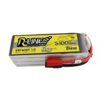 GENS ACE R-Line – 6s 5100mAh – 95C (AS150 Connectors)