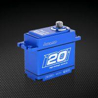 Power HD – Waterproof Servo (CNC Case) – 20kg – 0.09s (7.4V)