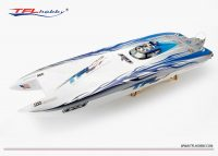 "ZONDA Fiberglass Racing Boat ""Extreme"" – 1050mm  (2 x 4092 motor/180Amp ESC) – ARTR (Comming soon)"