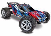 TRAXXAS – Rustler 4×4 VXL 1/10 RTR TQi TSM Blue w/o Battery & Charger