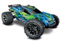 TRAXXAS – Rustler 4×4 VXL 1/10 RTR TQi TSM Green w/o Battery & Charger