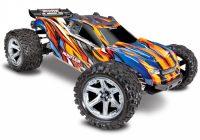 TRAXXAS – Rustler 4×4 VXL 1/10 RTR TQi TSM Orange w/o Battery & Charger