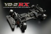 Yokomo YD-2RX Black Version RWD Drift Car Kit (Graphite Chassis)