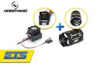 Hobbywing XeRun XR10 Justock ESC (ETS) + XeRun Justock 3650SD G2.1 17.5T Sensored