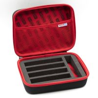 MonacoRC – Battery Bag Medium V2 (Red) (with inlay for 2s standard size bats)