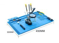 SEQURE – PCB welding silicone work mat (450mm x 300mm)