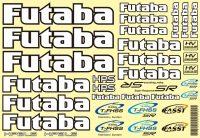 Futaba Decal Sheet for car 18x28cm