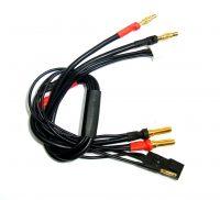 Team Powers – Ladekabel V2 – 550mm 4/5mm Bullet + RX Plug (3-in-1)