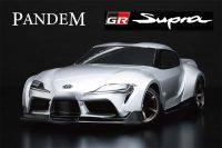 Yokomo – PANDEM GR Supra Clear Lexan Body (Decals included)