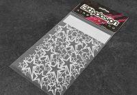 Bittydesign – Vinyl stencil 'Stars V1'