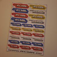 RCMN – Klistremerker/Stickers (Precutted)