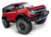 TRAXXAS TRX4 – Ford Bronco 2021 Scale & Trail Crawler – RED
