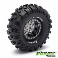Louise – Tire & Wheel CR-ROWDY 1.9″ Black Chrome (2)